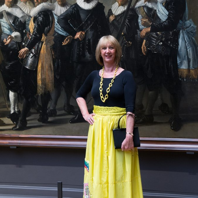 Rijksmuseum in Amsterdam featured the Yellow Skirt