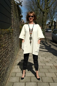 Acne tunic with scarfs and necklaces 8_LR