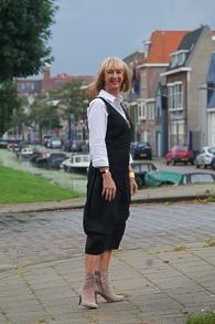Black summer dress and booties (1 van 1)