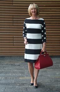 Black & white Max Mara dress (1 van 1)