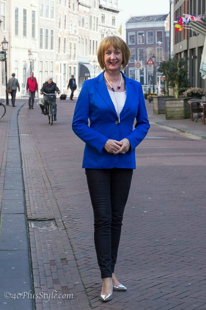 Blue jacket and Spijkers trousers (22)