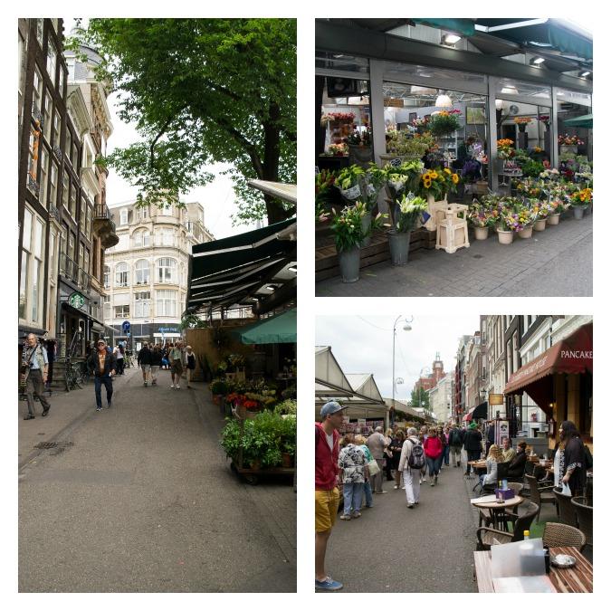 Leidsestraat flower market