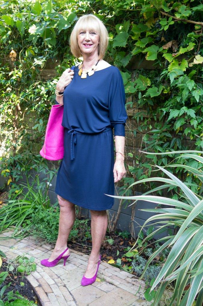 Filippa K blue dress 1