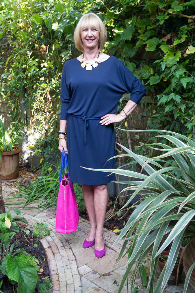 Filippa K blue dress (4 van 6)