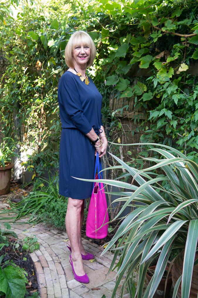Filippa K blue dress (5 van 6)