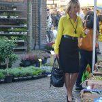 The market in Haarlem