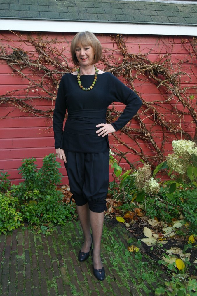 Black Sarah Pacini suit 2