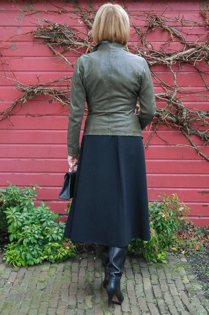 Green leather jacket (13 van 13)