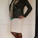 Pencil skirt styling