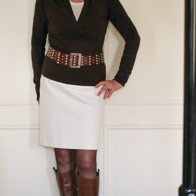 Pencil skirt styling part 2
