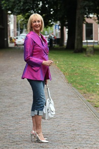 Purple silk jacket (1 van 1)
