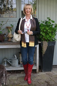 Red cowboy boots (1 van 1)