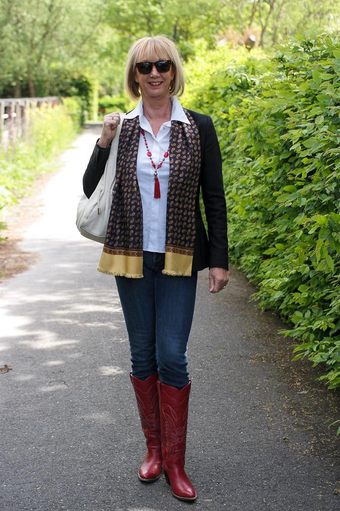 Red cowboy boots (2 van 2)-2