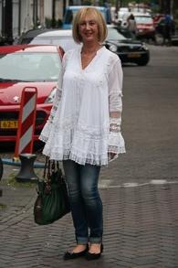 White boho blouse (1 van 1)