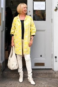 yellow dot jacket