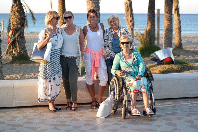 Holiday in Spain with my 4 girlfriends (1 van 1)