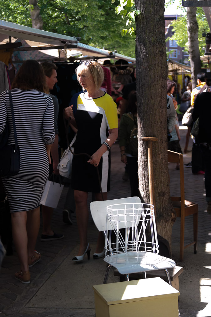 Yellow, black and white dress (15 van 22)