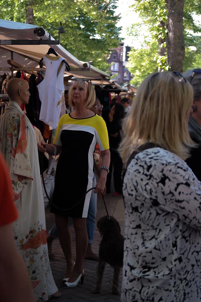 Yellow, black and white dress (16 van 22)