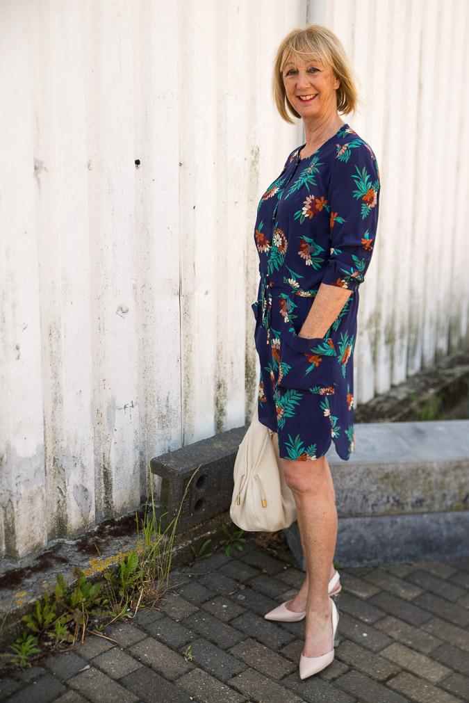 Blue Max Mara dress (1 van 8)