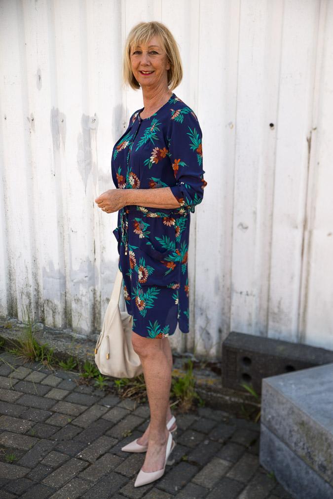 Blue Max Mara dress (4 van 8)