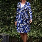 Diane von Fürstenberg wrap dress