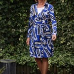 Diane von Fürstenberg wrap dress