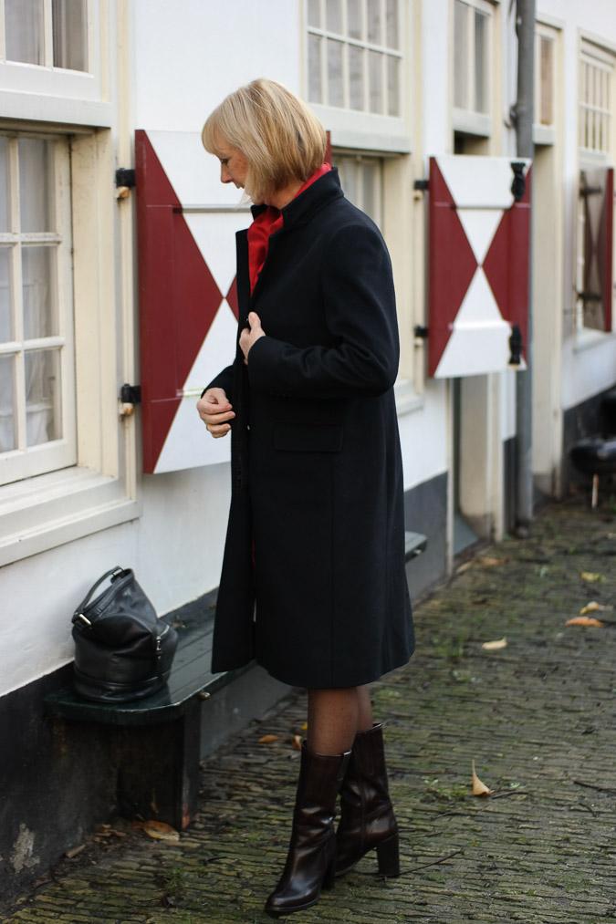 Black Max Mara coat (1 van 1)