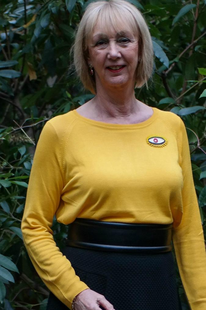 yellow jumper Zara