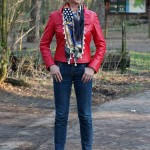 A red leather jacket and Project Sister Act