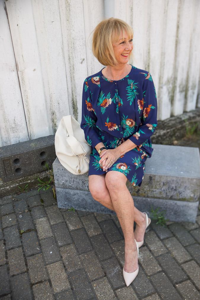 Blue Max Mara dress