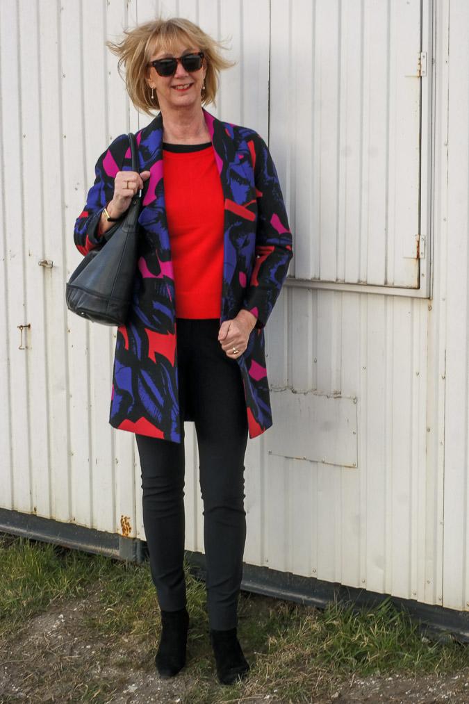 Diane von Fürstenberg jacket