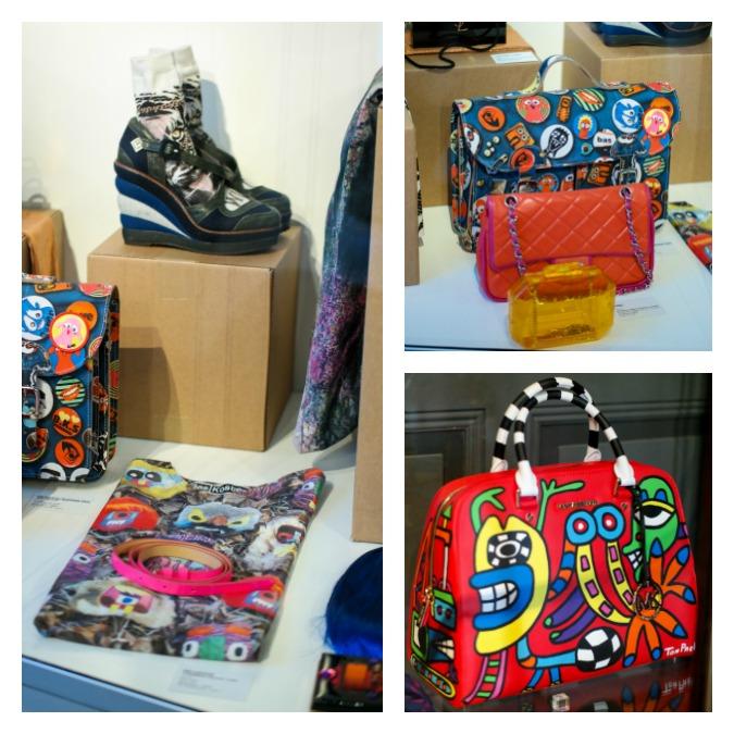 Street art bag museum