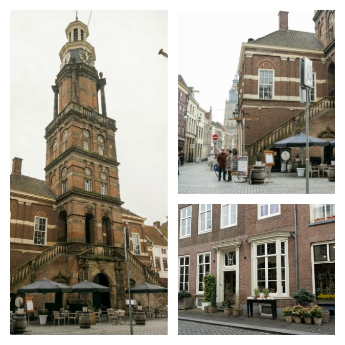Chruch square at Zutphen
