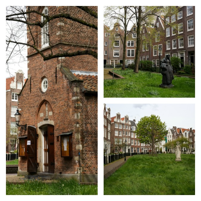 Beguinage with church