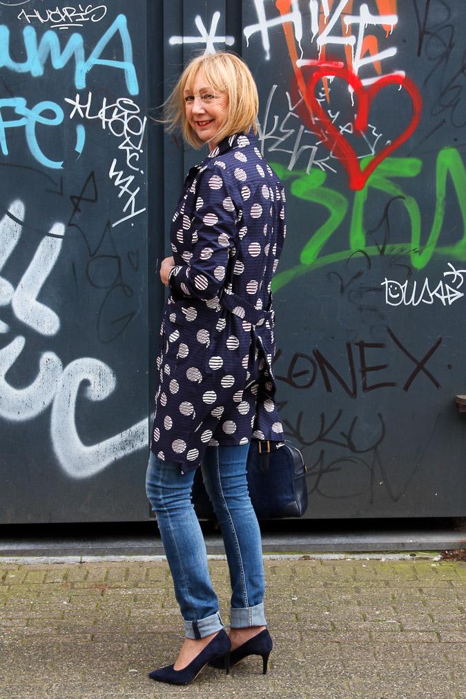 Blue Kenzo jacket dress