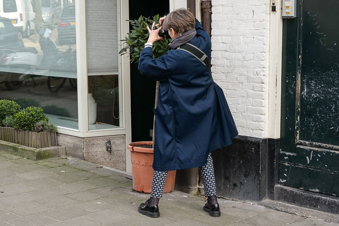 Misja photographing in Amsterdam
