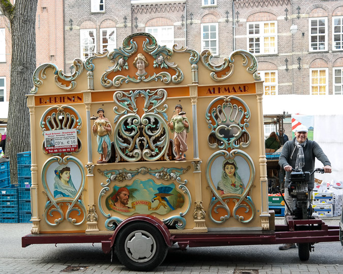 Street organ in Amsterdam