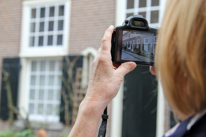 Photographing in Amsterdam