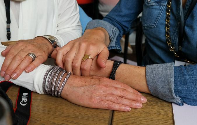 3040 Blogger Meet Lizzy's bracelets
