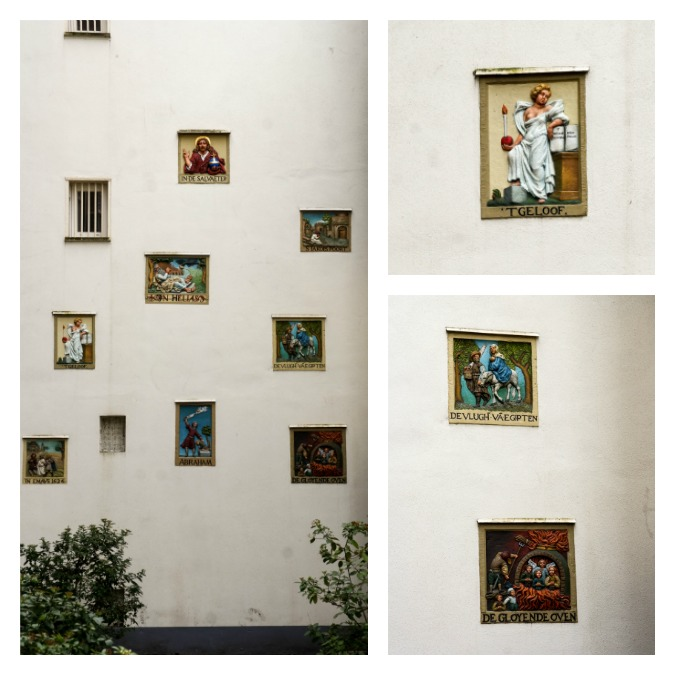 Beguinage mural decorations