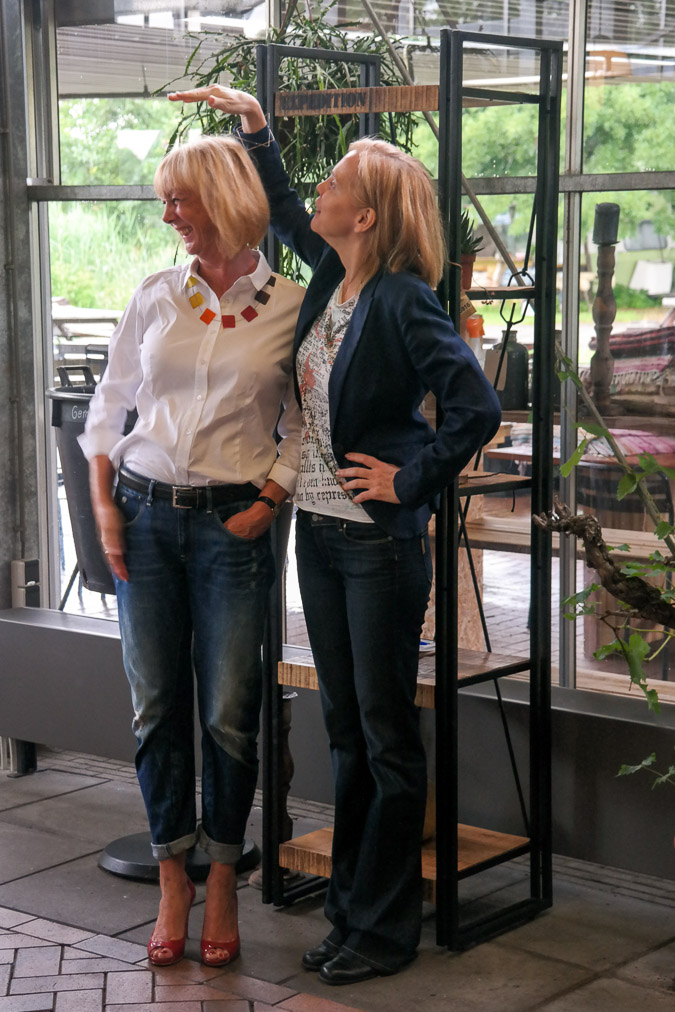 Battle of the jeans Greetje and Sylvia
