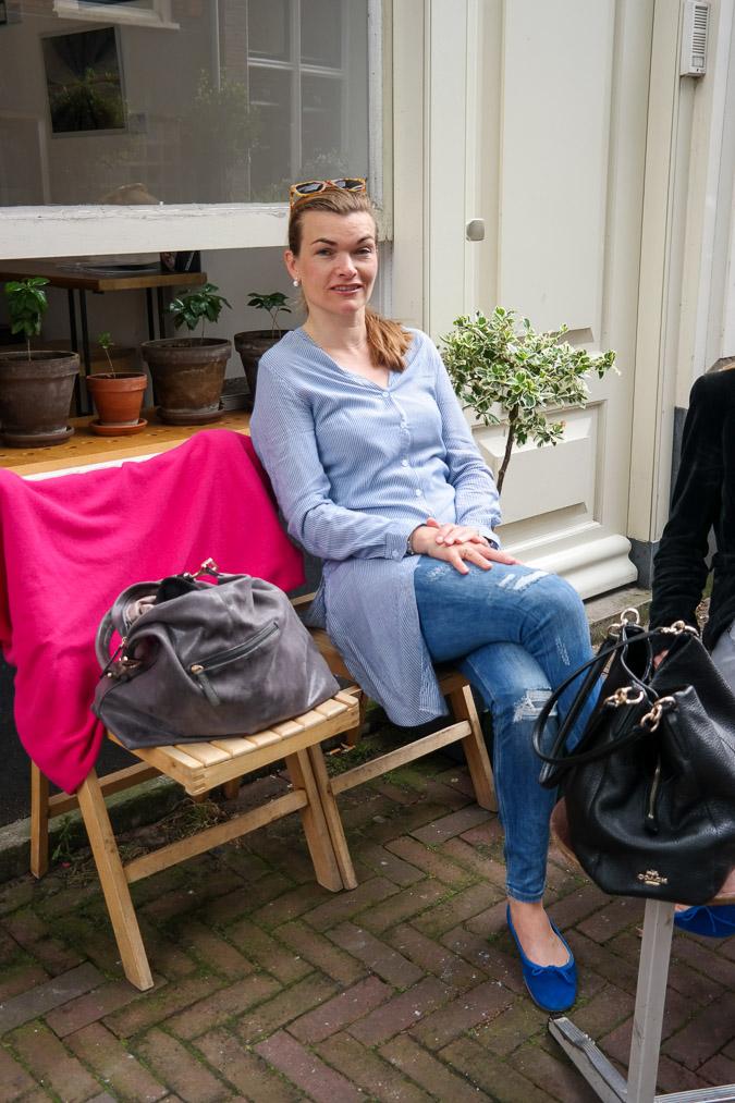 Shopping in Leidsestraat Amsterdam