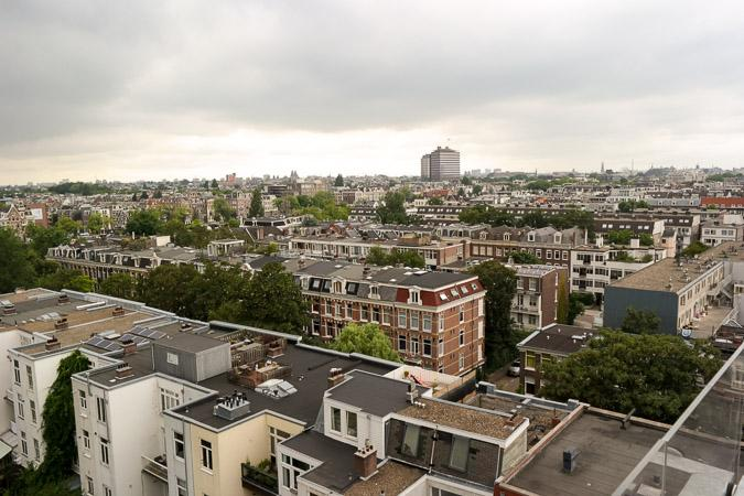view from Volkshotel Amsterdam