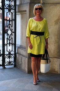 Obag, Bruschi slingbacks, Bellamy Gallery pencil skirt