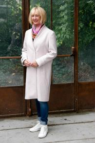 Pink or lavender coat by Filippa K