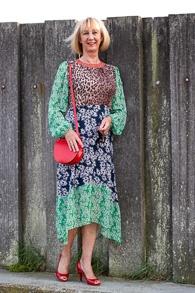 RIXO London dress, pumps: Unisa
