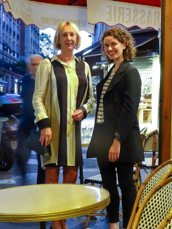 Meeting Jeanne Rideau in Paris