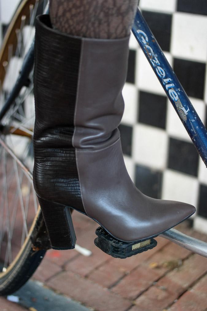 taupe boots Max Mara