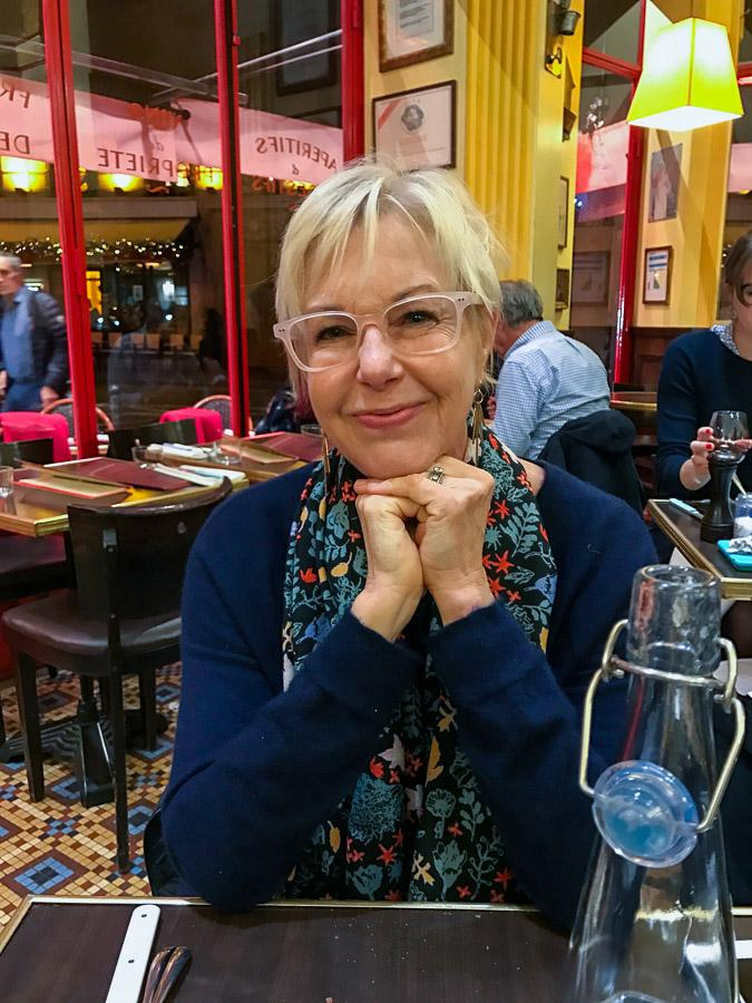Susan at Le Comptoir