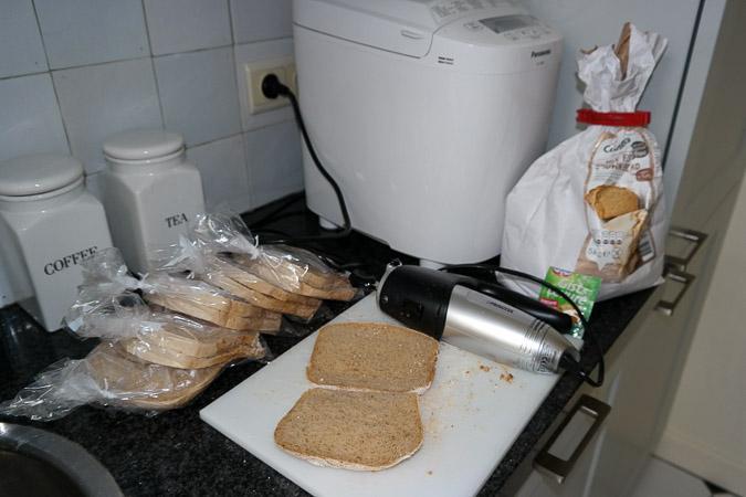 Glutenfree bread home-made